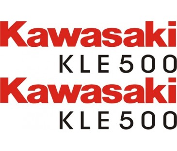 Kawasaki Kle 500 Sticker Set