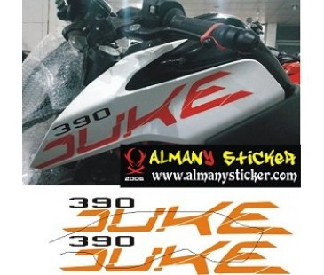 Ktm Duke 390 sticker set