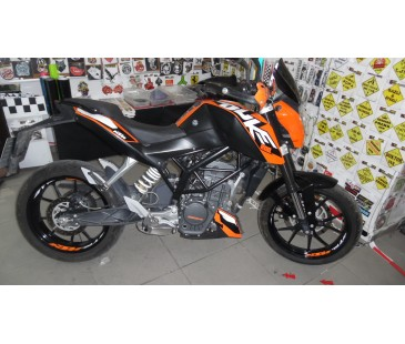 Ktm Duke Jant içi sticker