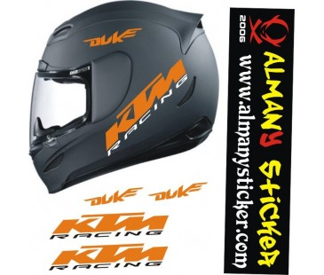 Ktm Duke Kask Sticker