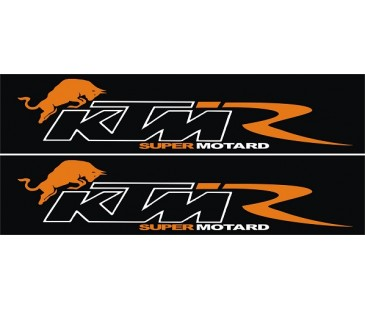 Ktm logo sticker-2,motosiklet sticker