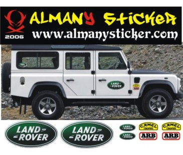 Land Rover Defeneder Sticker Set