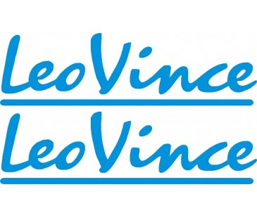 Leo vince sticker set,motosiklet sticker