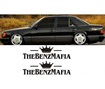Mercedes benz,benz mafia sticker