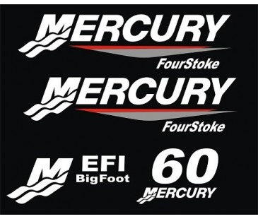 Mercury 60 tekne motoru sticker