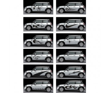 Mini Cooper Sticker-2,oto sticker,mini coper sticker