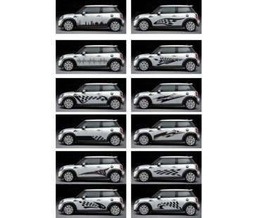 Mini Cooper Sticker,,oto sticker,mini coper sticker