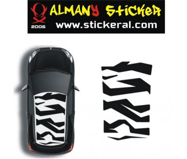 Mini Cooper Tavan Sticker