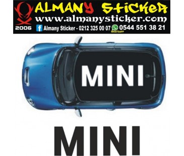 Mini Cooper mini Sticker,oto sticker