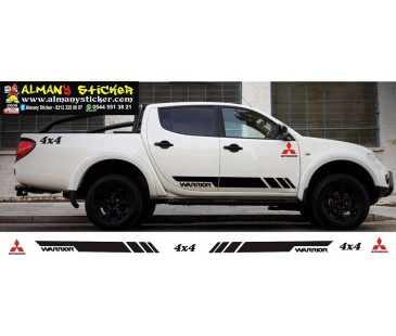 Mitsubishi L200 Sticker set