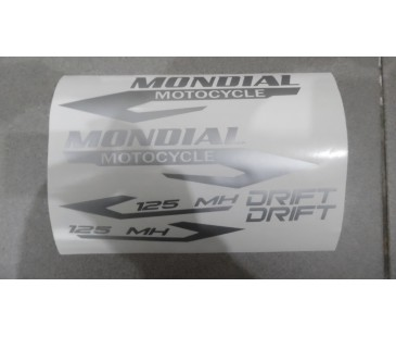 Mondial Drift Sticker