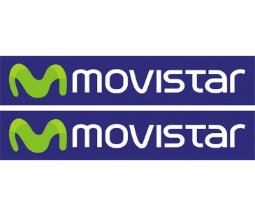 Movistar sticker set-2,Motosiklet sticker