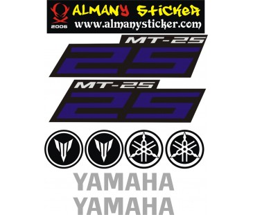 Mt 25 Sticker set