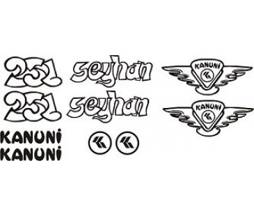 Mz Seyhan Sticker set