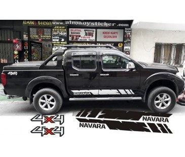 NAVARA MARŞBİYEL STİCKER,NAVARA STİCKER