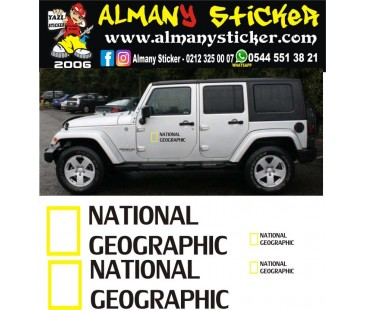 National Geographic Sticker Set