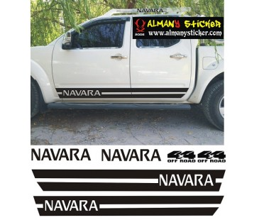 Nissan Navara sticker set,jeep sticker