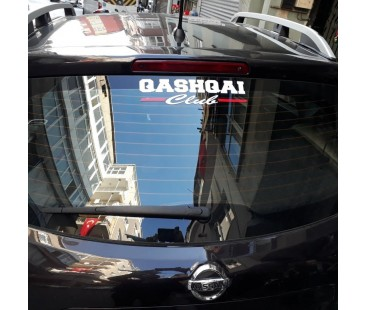 Nissan Qasqai Club Sticker,nissan sticker