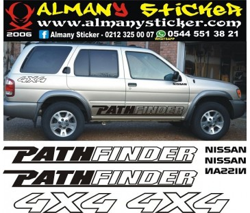 Nissan pathfinder sticker set