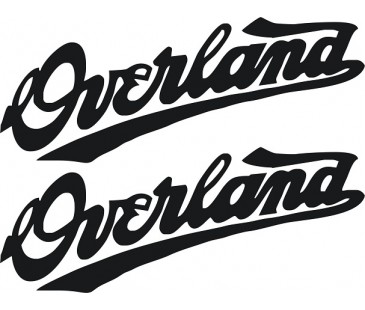 Overland sticker,Jeep sticker