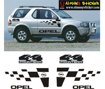 Opel Frontera Sticker,Jeep Sticker,Off Road Sticker