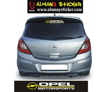 Opel Motosports Sticker,Opel Corsa Ecotech Motor Sticker,Opel Sticker,astra sticker,oto sticker