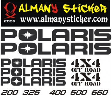 Polaris Sticker,atv sticker