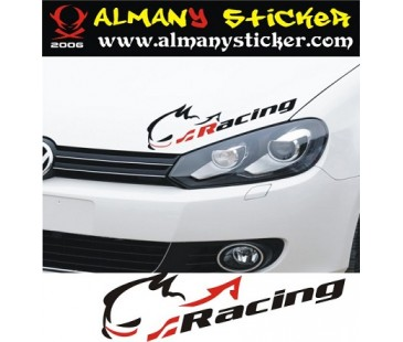 Racing Sticker
