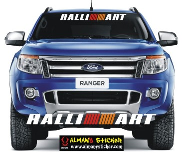 Ralliart Sticker