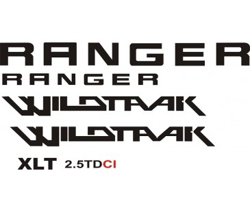 Ranger wildtrak sticker,jeep sticker,ranger sticker