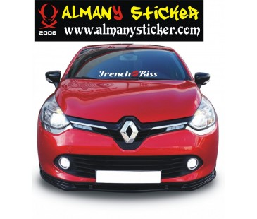Renault Sticker,French Kiss Fransız öpücüğü sticker,yazı