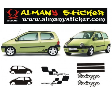 Renault Twingo Sticker set..