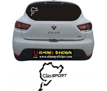 Renault clio sticker