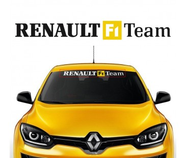 Renault f1 team sticker