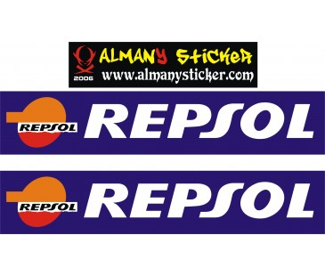 Repsol Sticker