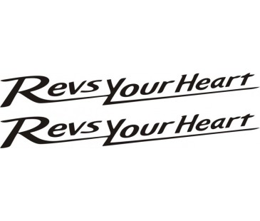 Revs Your Heart Sticker