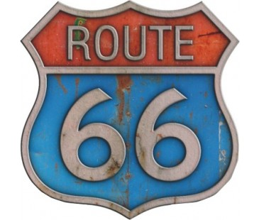 Route 66 Sticker,klasik otomobil sticker,eski stickerlar
