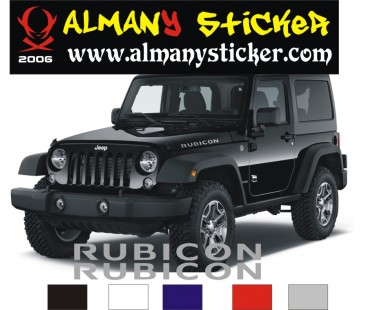 Rubicon Sticker