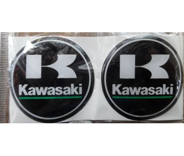Kawasaki logo damla sticker,kabartmalı sticker,silikon sticker,motosiklet sticker