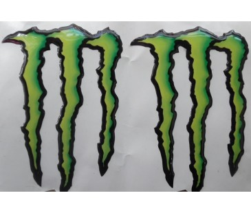 Monster damla sticker