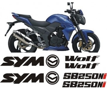 SYM WOLF 250 STİCKER SET