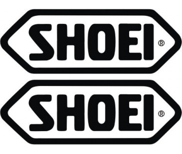 Shoei sticker set,motosiklet sticker