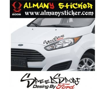 Speed Sport Ford Sticker