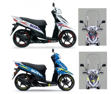 Suzuki Address sticker set,jant şeridi de dahil