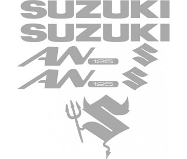 Suzuki An 125 Sticker Set