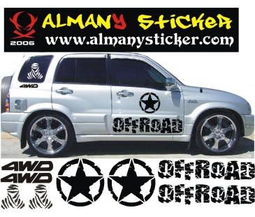 Suzuki Grand Vitara Sticker-1
