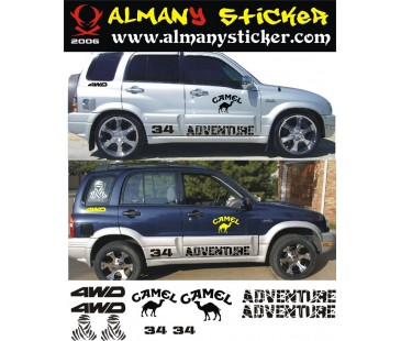 Suzuki Grand Vitara Sticker-2