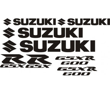 Suzuki Gsxr Set Sticker