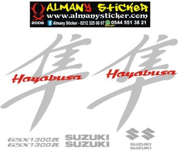 Suzuki Hayabusa 1300r Sticker Set