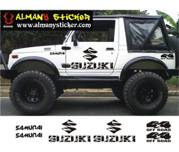Suzuki Samurai Sticker Set